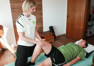CF Physiotherapie Behandlung